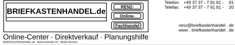 RENZ-Briefkastenhandel.de-Logo